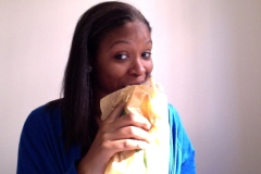 Eating my sub